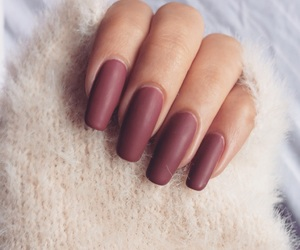 beautiful, burgundy, and details image