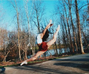autumn, ballet, and dancer image