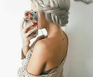 blonde and hair goals image