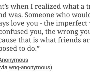 quotes, friends, and true friends image