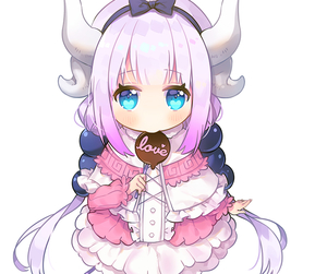 anime, kanna, and anime girl image