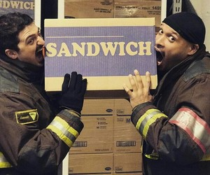 chicago fire, cruz, and otis image