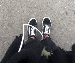 black, cozy, and fashion image