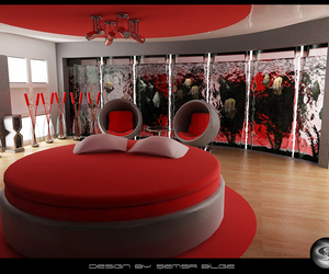 bedroom and red image