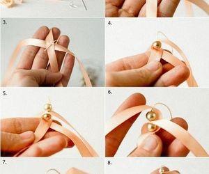 diy, ribbon, and bracelet image