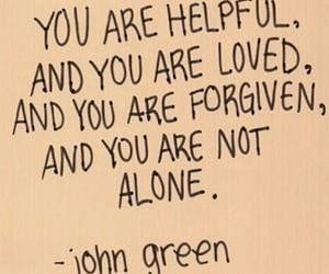 quotes, john green, and forgive image
