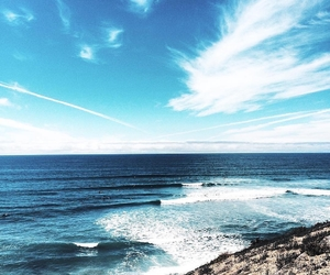 ocean, sky, and view image