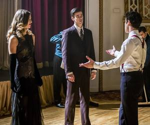 grant gustin, Supergirl, and the flash image