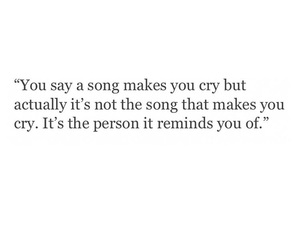 music, quotes, and cry image