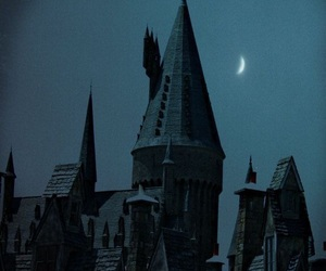 castle, dark, and harry potter image