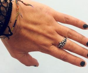bracelet, woman, and fashion image
