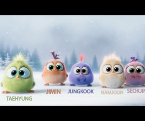 baby, jin, and bts image