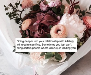 allah, flowers, and roses image