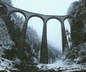beautiful, bridge, and cold image