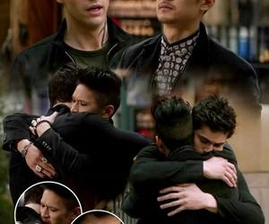 hug, wallpaper, and harry shum jr image