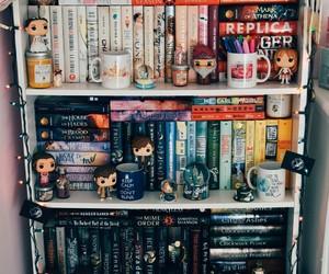 shelves, books, and bookshelves image