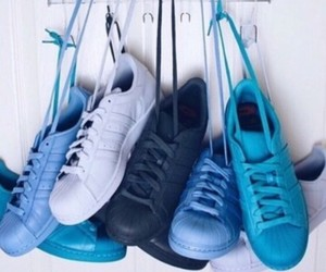 adidas, blue, and colors image