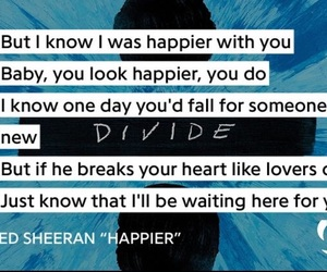 divide, happier, and Lyrics image