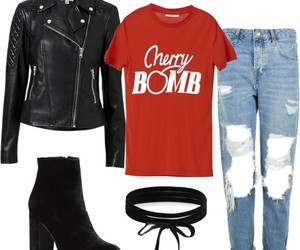 cherry, clothes, and look image