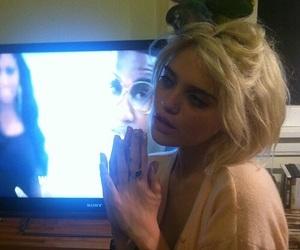 sky ferreira, grunge, and blonde image