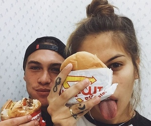 couple, food, and cute image