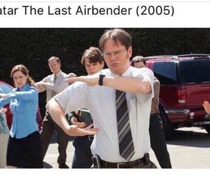 avatar, dwight, and last airbender image