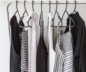 closet, minimal, and minimalism image