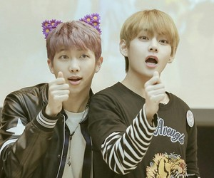 v, bts, and suga image