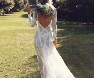 wedding dress, ivory wedding dresses, and ivory wedding dress image