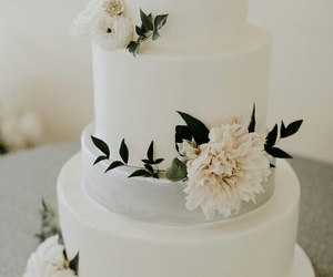 bridal, cake, and decoration image