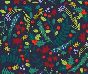 background, leaves, and mistletoe image