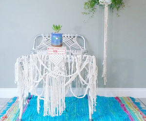 boho, bohemian decor, and fashion image
