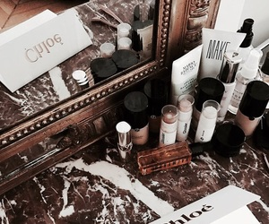 beauty, chloe, and cosmetics image