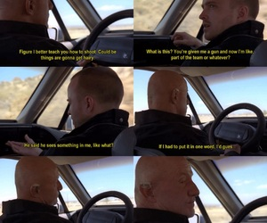 breaking bad, jesse, and mike image