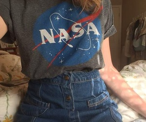 nasa, grunge, and alternative image