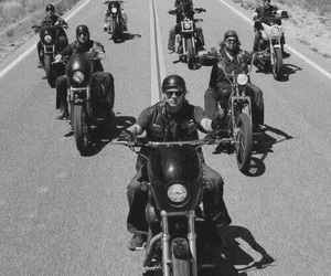 sons of anarchy, motorcycle, and soa image