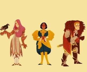 cullen, josephine, and dragon age image