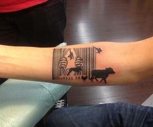 tattoo, vegan, and animals image