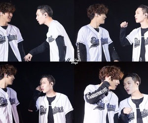 exo, exo otp, and chanlay image