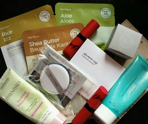 cosmetics, face mask, and shop image
