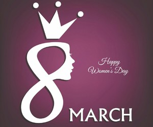 women's day and 8 march image