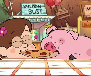 gravity falls, pato, and mabel image