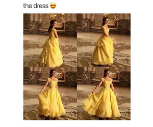 beautiful, belle, and disney image