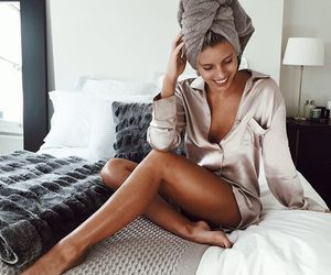 bed, fashion, and girly image
