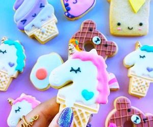 Cookies, unicorn, and food image