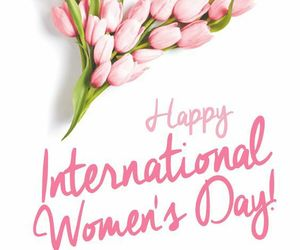 woman, women's day, and march image