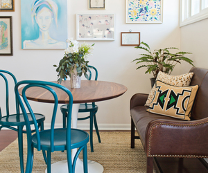 dining room, home, and interior design image