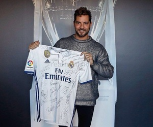 real madrid, love, and david bisbal image