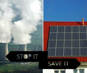 climate change, nature, and save the planet image