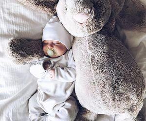 cutie, newborn, and sleepy image